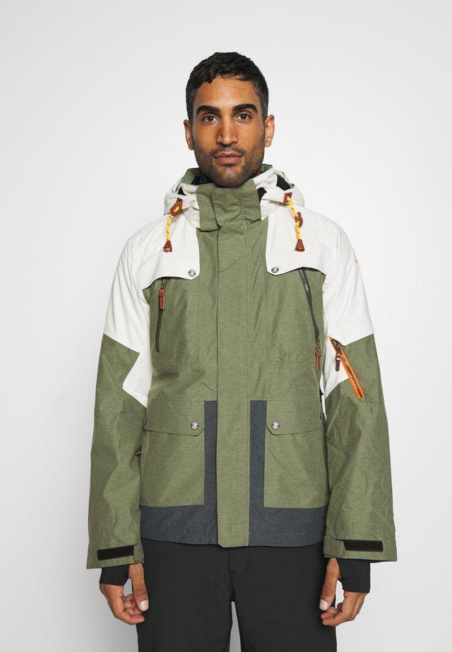 CANTON - Ski jacket - dark olive
