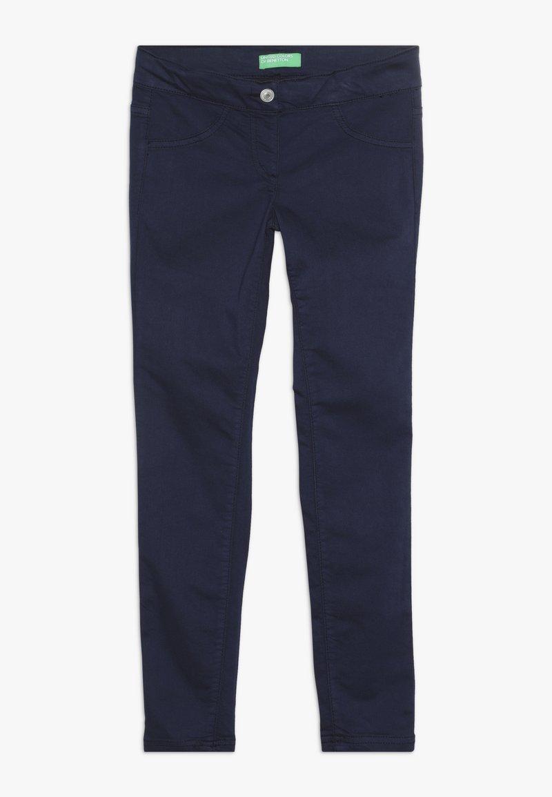 Benetton - TROUSERS - Jeans Skinny - dark blue