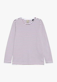 Scotch & Soda - DOUBLE LAYER LONG SLEEVE IN WAFFLE QUALITY 2-IN- - Long sleeved top - night - 2