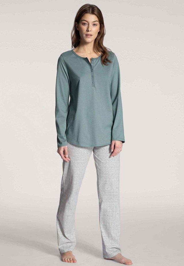 PYJAMA LANG - Pyjama set - eucalyptus
