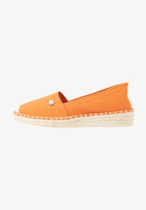 INES BASIC - Espadrilky - rust orange