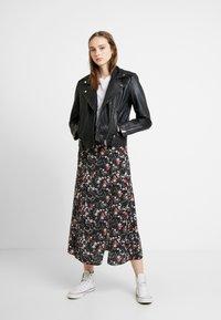 Topshop - MONA - Leather jacket - black - 1