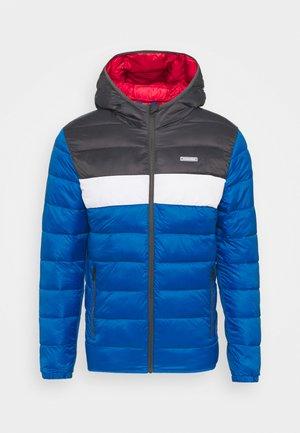 JJVINCENT PUFFER HOOD - Light jacket - asphalt