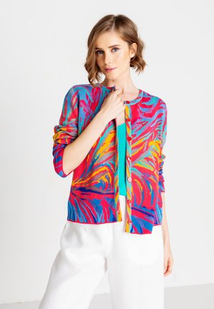 TROPICAL MOTIF - Cardigan - pink