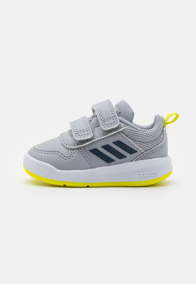 adidas Performance - TENSAUR UNISEX - Sportovní boty - halo silver/crew navy/acid yellow