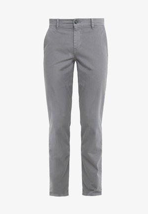REGULAR FIT - Trousers - dark grey