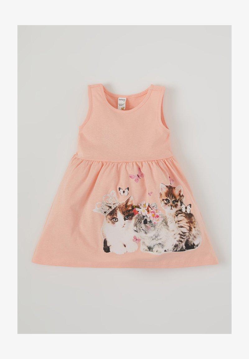 DeFacto - Jersey dress - pink