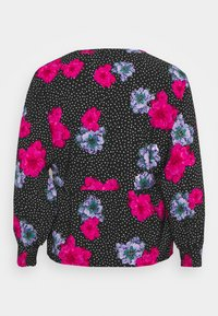 Simply Be - SMOCK BATWING SLEEVE  - Blůza - lilac floral - 1