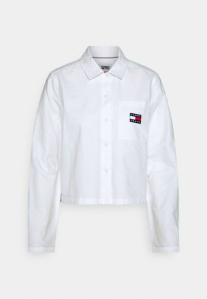 HERITAGE BADGE SHIRT - Button-down blouse - white