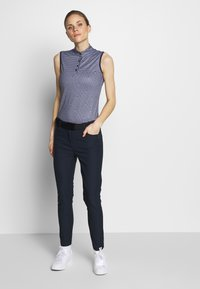 Cross Sportswear - STRETCH PANTS - Kalhoty - navy - 1
