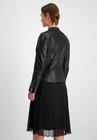 Milestone - Leather jacket - schwarz - 2