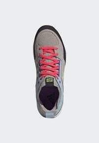 adidas Performance - FIVE TENNIE SHOES - Hiking shoes - brown/grey/purple - 1