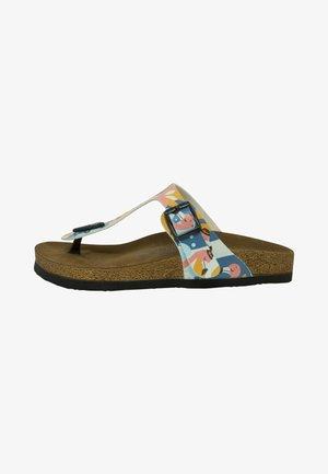 THE FLAMINGOS - T-bar sandals - multicolor