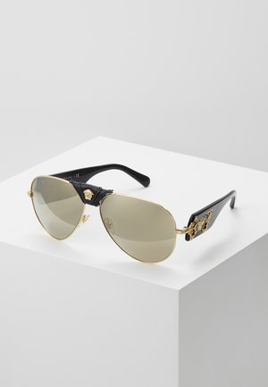 Sunglasses - light brown/dark gold-coloured