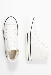 Dorothy Perkins - ICONIC TOP TRAINER - Baskets montantes - white - 3