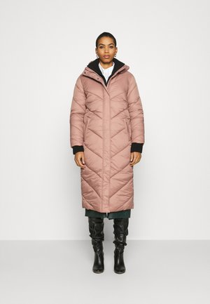 CATJA LONG JACKET - Winter coat - burlwood