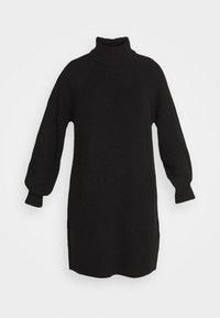 Noisy May - NMTIMMY DRESS - Strikket kjole - black - 5
