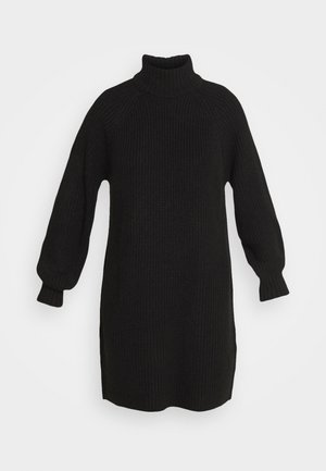 NMTIMMY DRESS - Stickad klänning - black