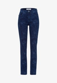 BRAX - STYLE MARY - Slim fit jeans - laser paisley blue - 5