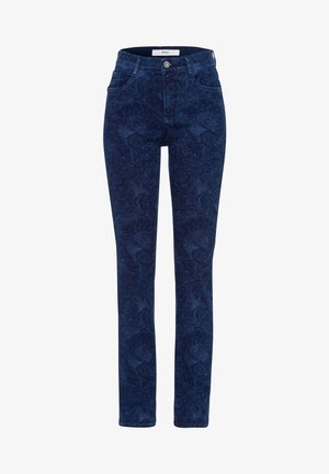 STYLE MARY - Slim fit jeans - laser paisley blue