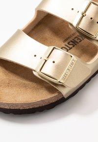 Birkenstock - ARIZONA - Slippers - gold - 2
