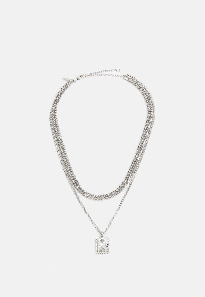 Topshop - ENGRAVED - Halskæder - silver-coloured