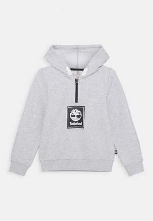 HOODED CAPSULE - Hoodie - chine grey