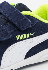 Puma - STEPFLEEX 2 UNISEX - Sports shoes - peacoat/white/yellow alert - 5