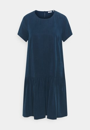 DRESS SHORT SLEEVE - Day dress - dress blue