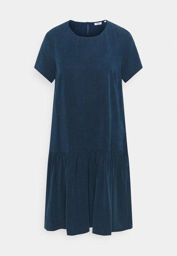 DRESS SHORT SLEEVE - Day dress - dress blue