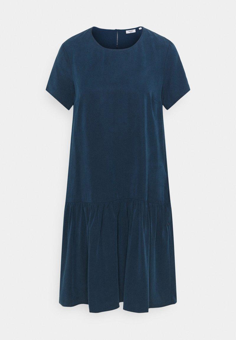 Marc O'Polo DENIM - DRESS SHORT SLEEVE - Day dress - dress blue