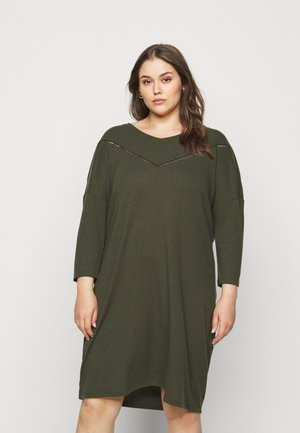 CARCAMILIE KNEE DRESS - Day dress - forest night