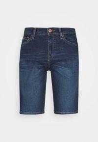 Tommy Jeans - MID RISE BERMUDA - Jeans Short / cowboy shorts - dark blue - 4
