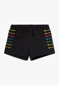 Champion - LEGACY AMERICAN CLASSICS FLUO  - Sports shorts - black - 0