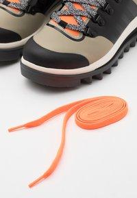 adidas by Stella McCartney - EULAMPIS - Vinterstøvler - tech beige/core black/solar orange - 5