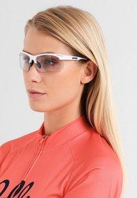Uvex - SPORTSTYLE 802 SMALL V - Sports glasses - white - 1