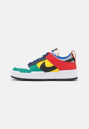 DUNK - Sneakers - wolf grey/black/tour yellow/university red/midnight navy/green noise
