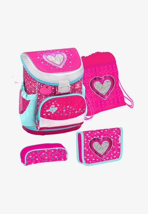SET 4 TEILIG - School set - pink