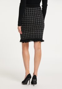 faina - Pouzdrová sukně - schwarz - 2