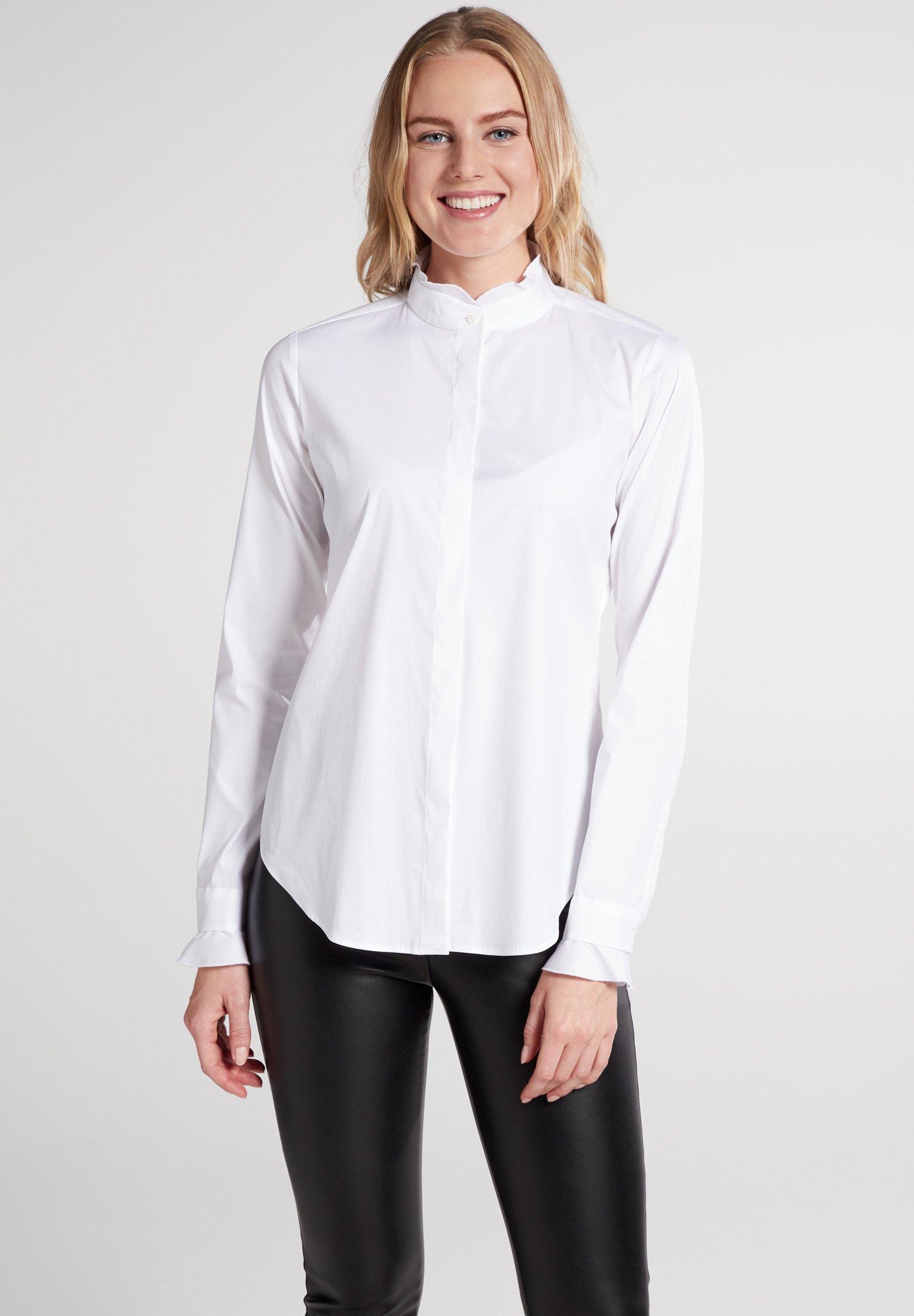 Eterna Overhemdblouse - weiß - Dameskleding AAA-kwaliteit