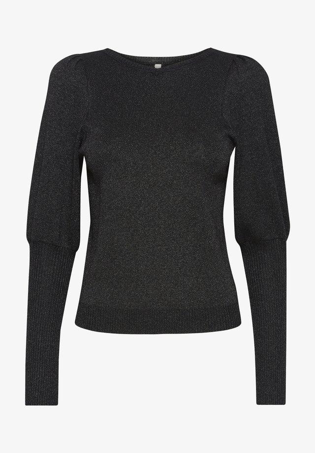 Sweter - black glitter