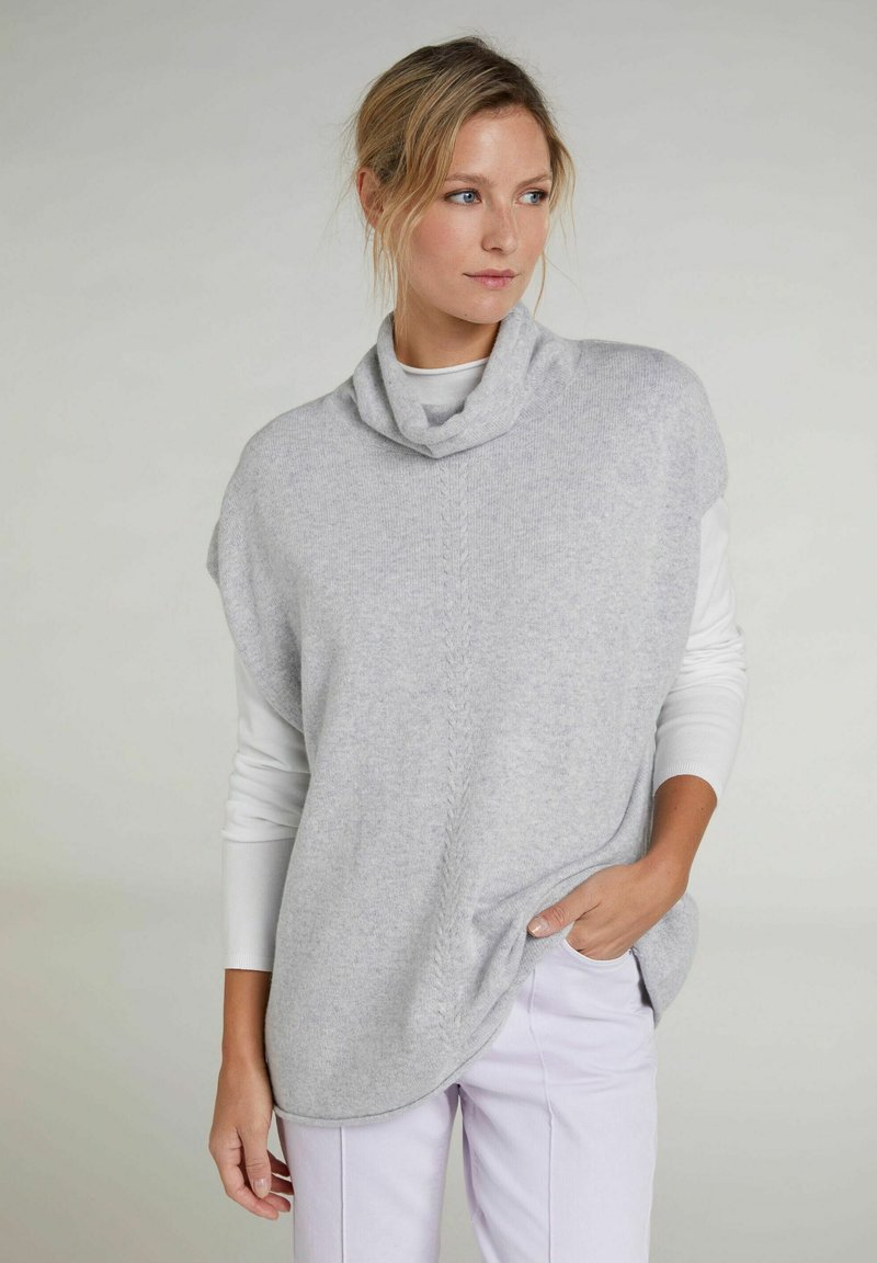 Oui - Top - light grey