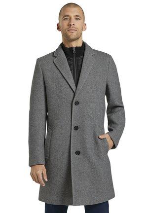 Classic coat - light grey herringbone