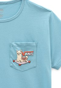 Vans - GR TINY LLAMA - T-shirt print - delphinium blue - 2