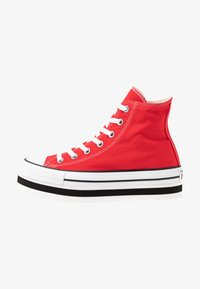 Converse - CHUCK TAYLOR ALL STAR LAYER BOTTOM - Høye joggesko - university red/white/black - 1