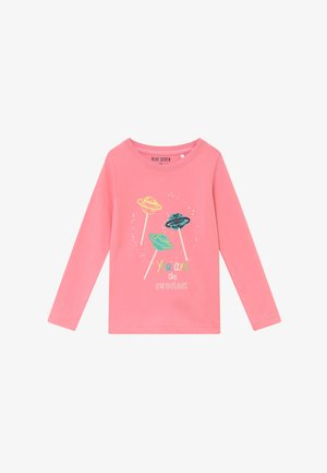 KIDS GLITTER STAR CAT MUFFIN - Long sleeved top - pink