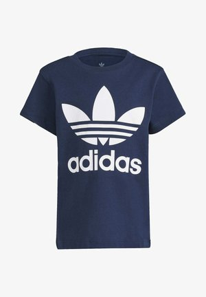 TREFOIL T-SHIRT - Camiseta estampada - blue