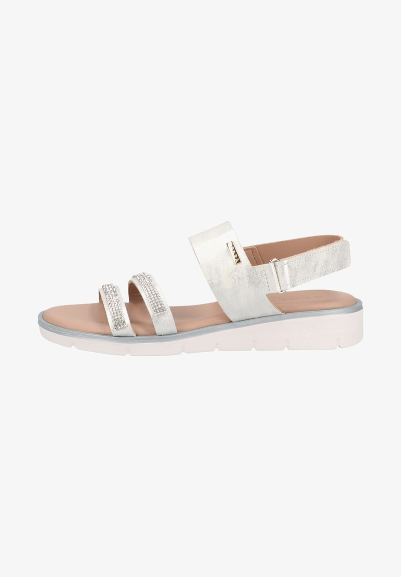 Scapa - Wedge sandals - silver