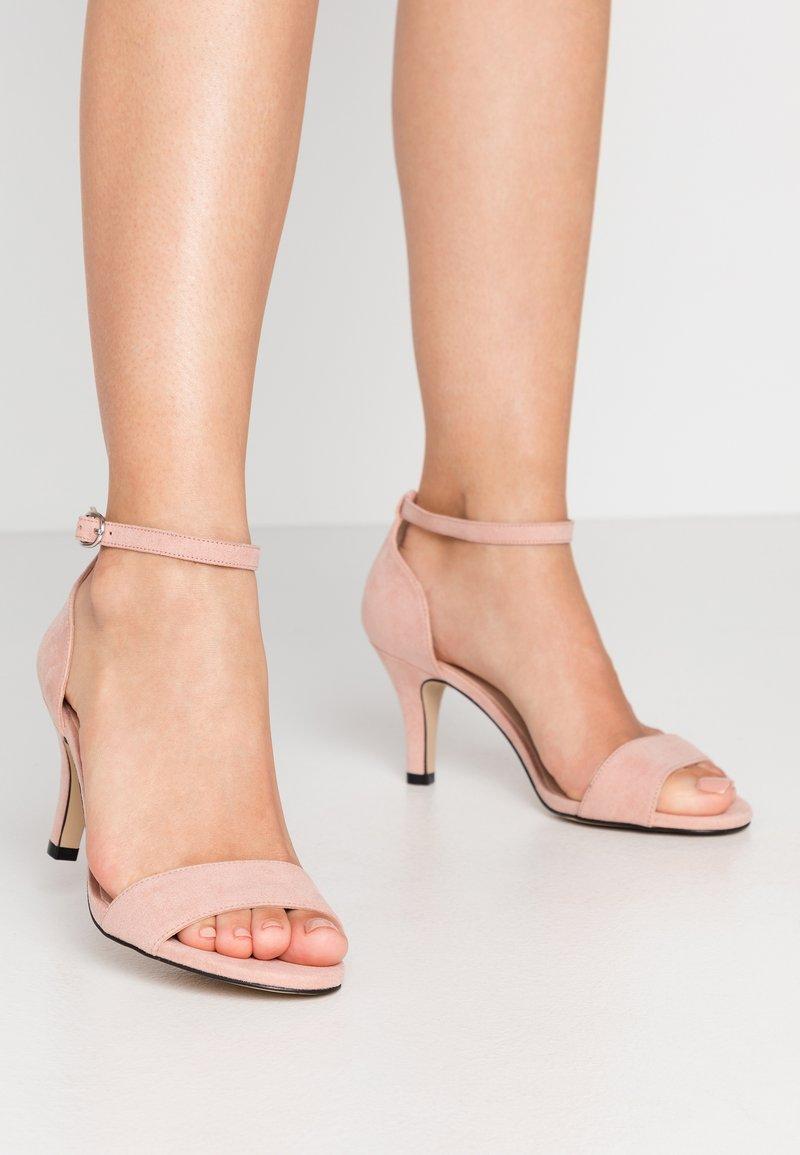Bianco - BIAADORE BASIC - Sandals - powder