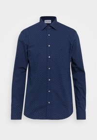 Calvin Klein Tailored - EASY CARE FITTED SHIRT - Shirt - blue - 5